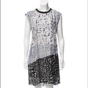 Stylish - Helmut Lang Printed Shift Dress